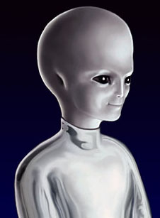 Alien Humanoid type picture